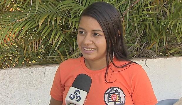 Silvana Kassupá é descendente indígina e irá conduzir tocha olímpica em RO (Foto: Globo Esporte)