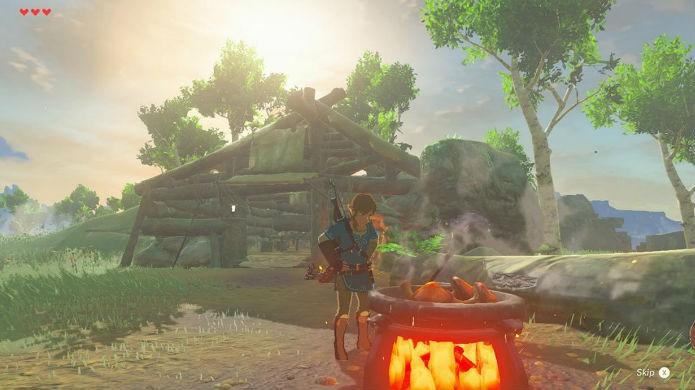 The Legend of Zelda: Breath of the Wild possui o mesmo conteúdo nos dois consoles (Foto: Divulgação/Nintendo)