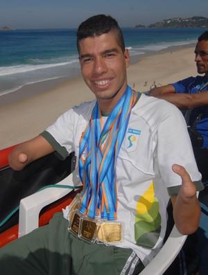 Daniel Dias parapan Rio (Foto: Divulgação)