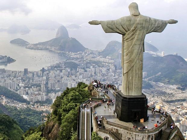 Corcovado registrou aumento de quase 100 mil pessoas nas visitas (Foto: Divulgação/ Riotur, Pedro Kirilos)