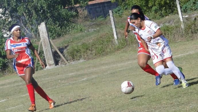 Campeonato Capixaba Feminino 2014: Vila Nova-ES x Vilavelhense (Foto: Divulgação/Vila Nova FC)