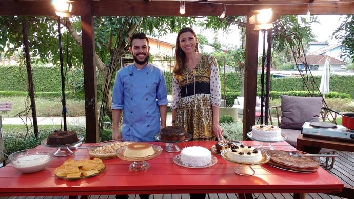 Que tal uma sobremesa deliciosa para o dia dos namorados? o Mistura ensina  (Foto: RBS TV/Divulgação )