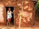 Casas de taipa ainda são comuns no interior do CE, mesmo inadequadas