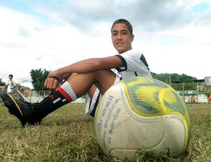 Romarinho no juniores do Vasco (Foto: André Durão / GLOBOESPORTE.COM)