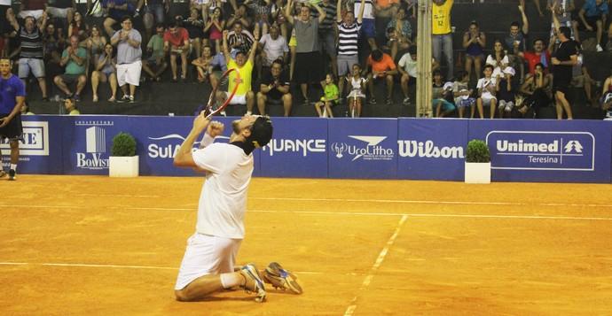 Caio Zampieri conquista título para o Brasil no desafio (Foto: Josiel Martins )