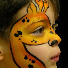 pinturafacial_girafa (Foto: Reprodução - Pinterest)
