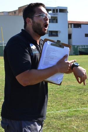 Gabriel Mendes, Coach do Vasco da Gama Patriotas (Foto: Wagner Chaló/GloboEsporte.com)