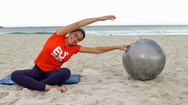 Fernanda Gentil ganha um quadro no Esporte Espetacular para mostrar ao público a importância da prática esportiva durante a gestação (Foto: Globo)