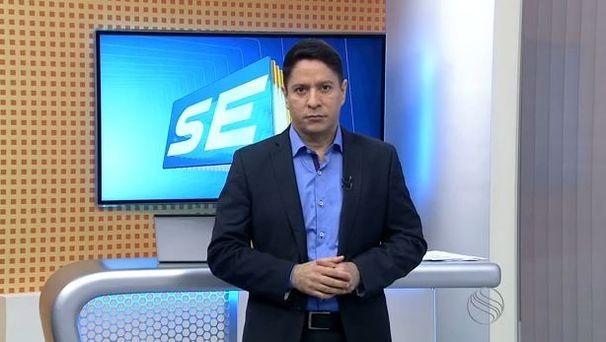 Ricardo Marques acompanhou a prisão do acusado (Foto: Divulgação/TV Sergipe)