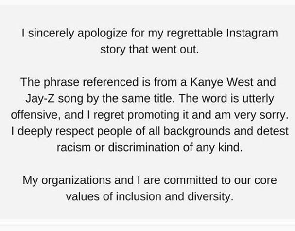 Pedido de desculpas de Miroslava (Foto: Reprodução/Instagram)