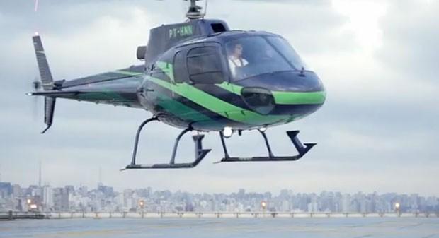 UberCOPTER conectará cinco helipontos e quatro aeroportos. (Foto: Divulgação)