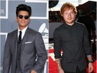 Bruno Mars e Ed Sheeran ironizam briga entre Taylor Swift e Nicki Minaj
