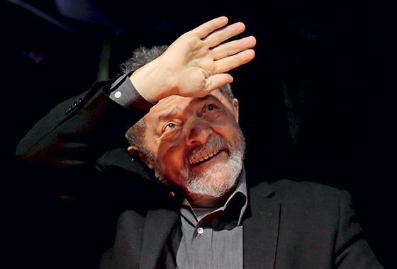 Lula esteve na Argentina para visitar o político Daniel Scioli (Foto: Ueslei Marcelino/Reuters)
