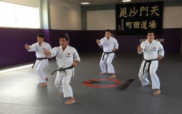 Yoshizo Machida em treino (Foto: Divulgação)