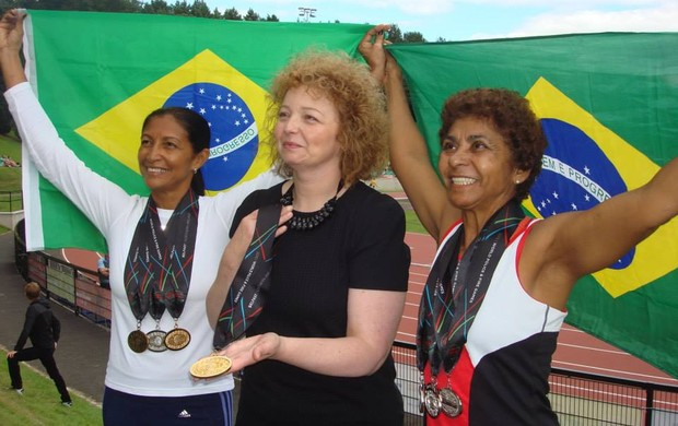 Velocista Simone Lima (Foto: Arquivo pessoal/Simone Lima)