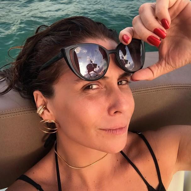Giovanna Antonelli caracterizada como Alice em Sol Nascente (Foto: Reprodução Instagram)
