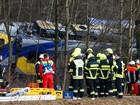 Promotores alemães acham que erro humano provocou acidente com trens