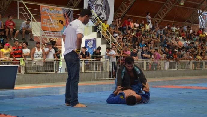 Jiu-jítsu; Amapá (Foto: Rafael Moreira/GE-AP)