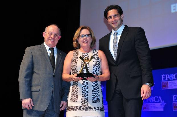 Zanzini ganha prêmio de Melhor Empresa para Trabalhar entre pequenas e médias (Foto: Editora Globo)