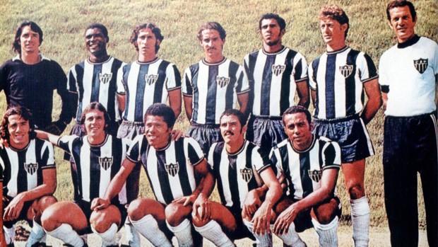 Atlético-MG campeão de 1971 (Foto: Divulgação/Flick)
