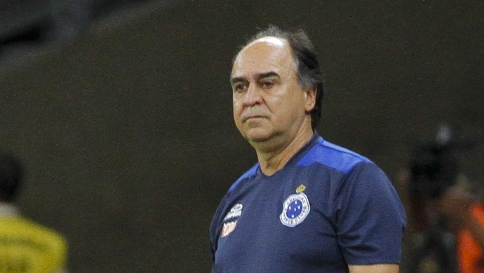 Marcelo Oliveira, técnico do cruzeiro (Foto: Washington Alves \ Light Press)