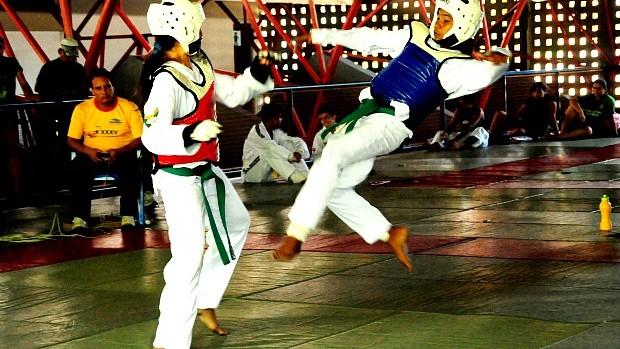 Taekwondo Amazonas (Foto: Emanuel Mendes Siqueira/Sejel)