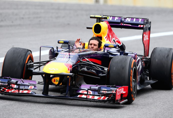 Mark Webber despedida GP Brasil (Foto: Getty Images)