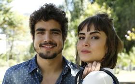 Caio Castro e Maria Casadevall revelam que beijos técnicos são 'de verdade'