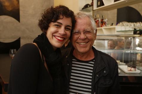 Nina e Nelson (Foto: Daniela Dacorso)