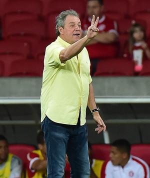 Abel Braga Internacional x Bahia (Foto: Vinicius Braga / Ag. Estado)