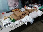 Bope encontra droga enterrada em quintal (DIvulgação/ Polícia Militar)