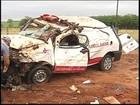 Paciente e motorista de ambulância morrem durante acidente em Tanabi