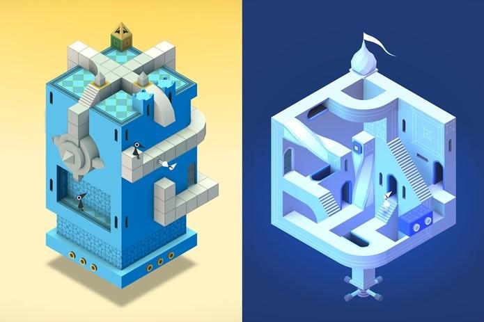 Novas fases gratuitas em Monument Valley, jogo vencedor de diversos prêmios de design (Foto: Divulgação)