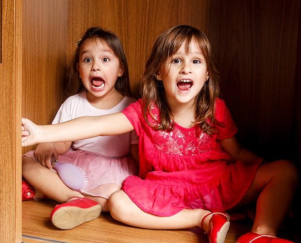 Kiara e Maya, filhas de Natália Guimarães (Foto: Flare Fotografia/ Ed. Globo)