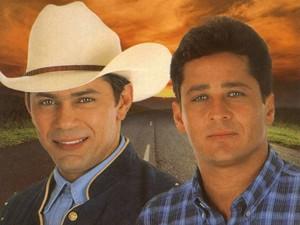 Capa do disco 'Um sonhador' (1998), da dupla Leandro e Leonardo (Foto: Reprodução)