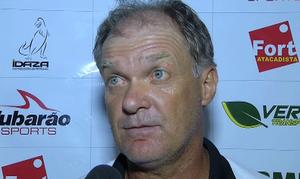 Treinador Zé Roberto do Mixto (Foto: Reprodução/TVCA)