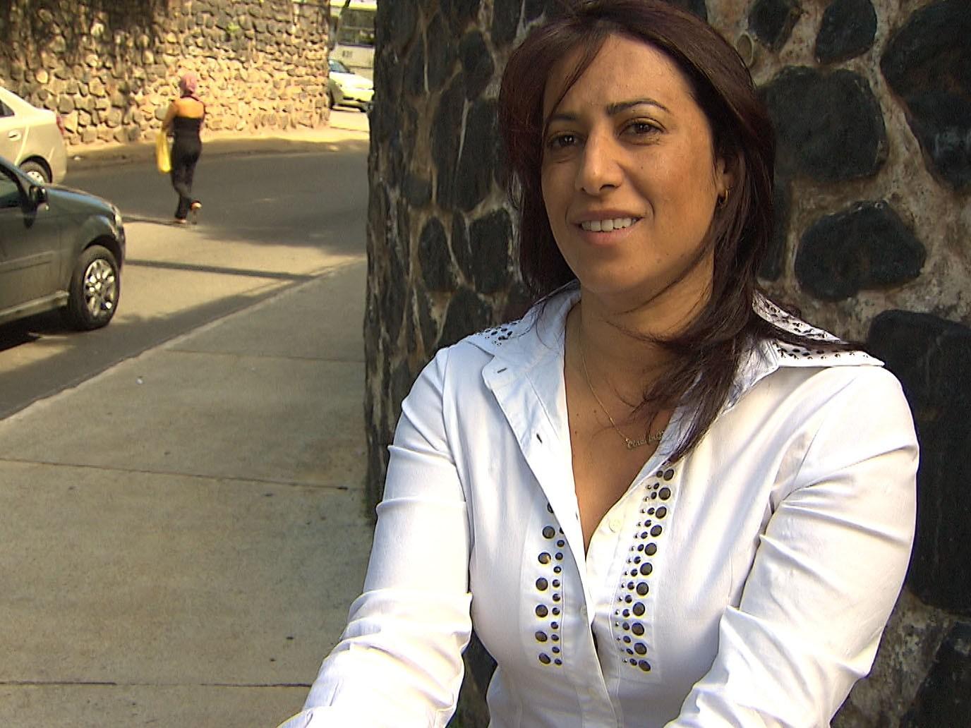 Deputada estadual Cláudia Oliveira (Foto: Candidata a prefeita diz que foi alvo de calúnia e difamação (Foto: Reprodução/TV Santa Cruz))