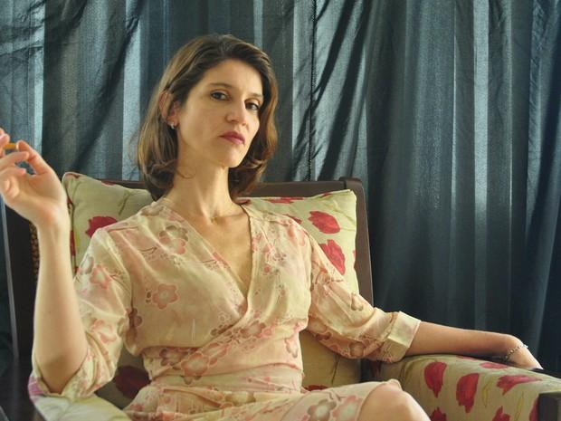 Atriz Juliana Zancanaro interpreta Graciela no monólogo baseado na obra Diatribe de amor, escrita por Gabriel García Márquez  (Foto: Joao Nunes/Divulgação)
