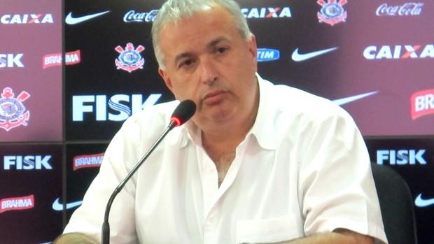 Roberto de Andrade, diretor de futebol do Corinthians