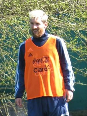 Messi treino Argentina (Foto: Divulgação/AFA)