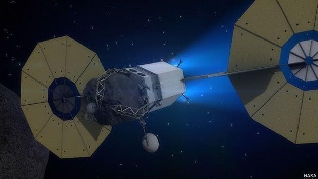 A missão contribuiria para o desenvolvimento de tecnologia que pode ser útil para desviar asteroides perigosos que venham na direção da Terra  (Foto: Nasa)