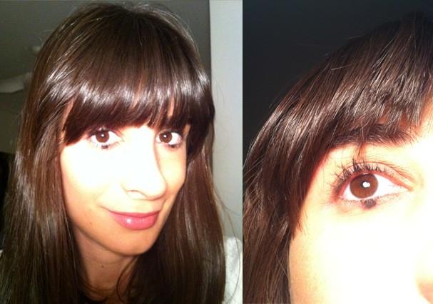 Camila Fremder aderiu ao novo make na vida real (Foto: Reprodução)