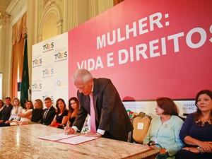 Vice José Paulo Cairoli (RS) lança novo programa de políticas para as mulheres (Foto:  Karine Viana/Palácio Piratini)