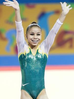 Flavia Lopes Saraiva bronze Pan-Americano (Foto: Ricardo Bufolin/CBG)