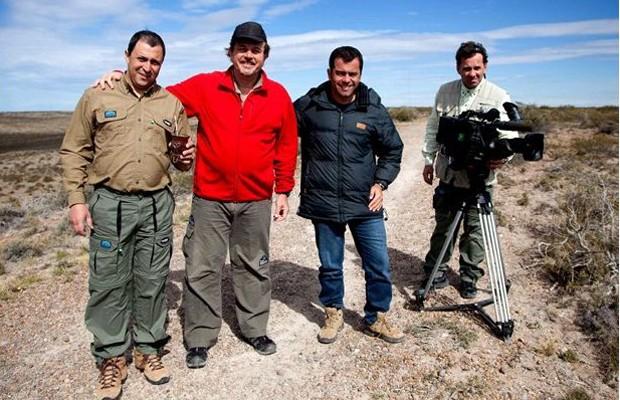 Equipe da EPTV se aventura pela Patagônia Argentina (Foto: Daniel Rosa)