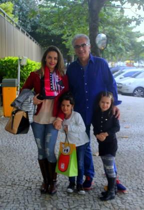 Aniversário do filho de Fernanda Pontes e Diogo Boni (Foto: DANIEL DELMIRO/AgNews)