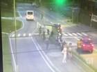 Dois são detidos após câmera flagrar assassinato em São José, assista