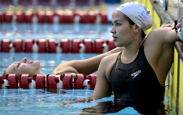 Ana Carla Carvalho na Tentativa Olímpica (Foto: Satiro Sodré / Agif)