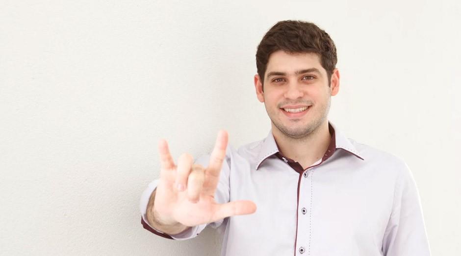 Ronaldo Tenório, criador da Hand Talk: ele está na lista dos mais inovadores do mundo (Foto: Nissan)