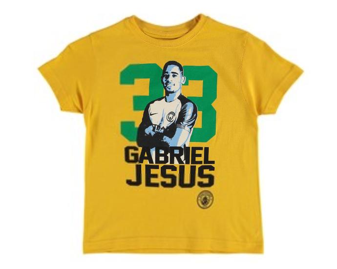 Camisa Gabriel Jesus Manchester City (Foto: Reprodução)